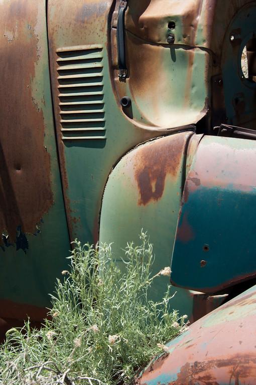 rusty pieces