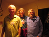 George Wuerthner with meetings chairs Anne Henny and Terry Frewin