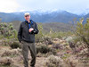 Brian Beffort enjoys afternoon light; Brian is Toiyabe Chapter Director