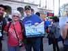 Sierra Club friends Barb Williams and Dawna Knapp at the rally