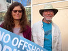 Our wilderness co-chair Anne Henny and Richard Rollins at the rally