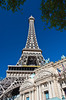 The Eiffel Tower at the Paris Hotel and Casino in Las Vegas, Nevada, USA.