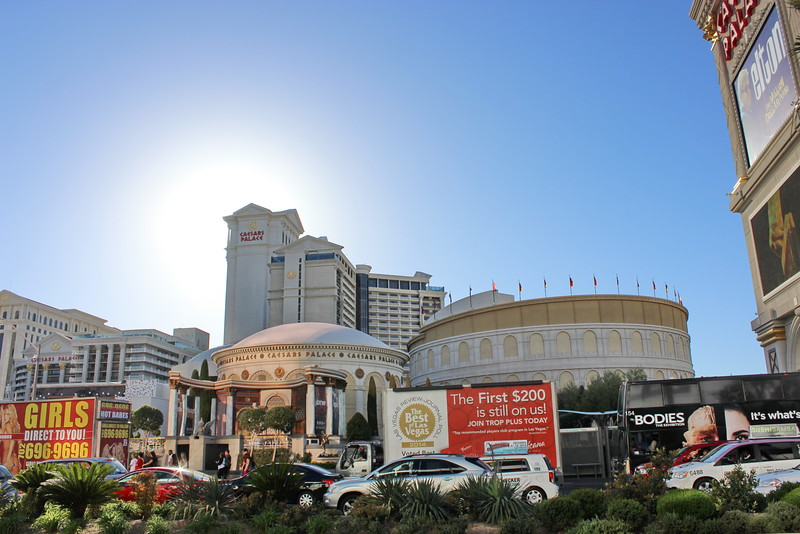 Caesars Palace and Forum