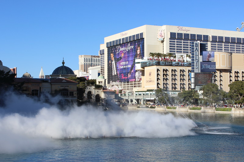 Bellagio Fountain Fog