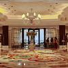 Floral Themed Lobby