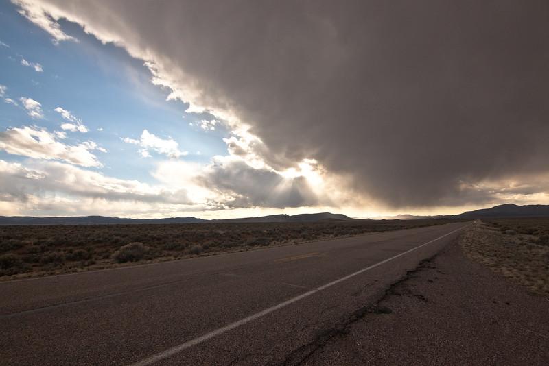 Evaporating Rain and Sun Rays