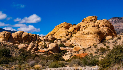 Turtlehead Mountain in Red Rock Canyon National Conservation Area Nevada
