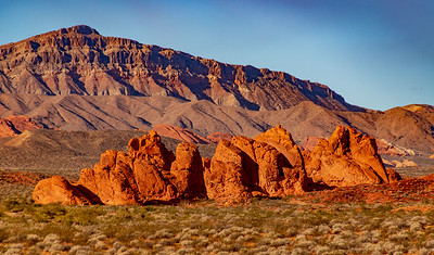 Seven Sisters in Valley of Fire State Park, Nevada