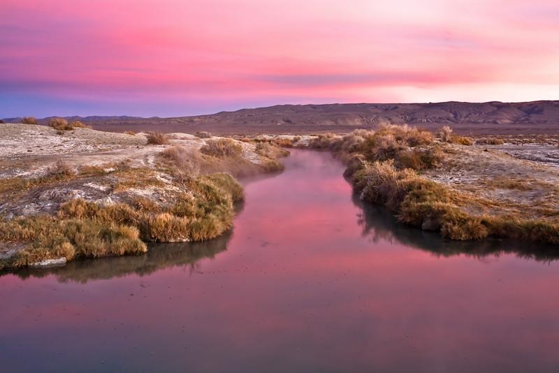 Trego Sunset Reflection