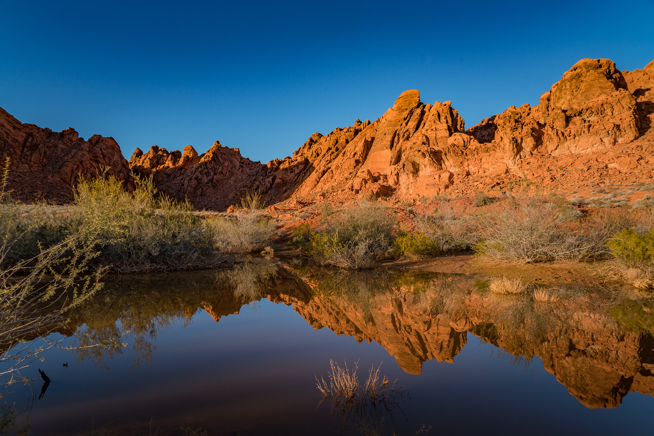 Reflections of Valley of Fire