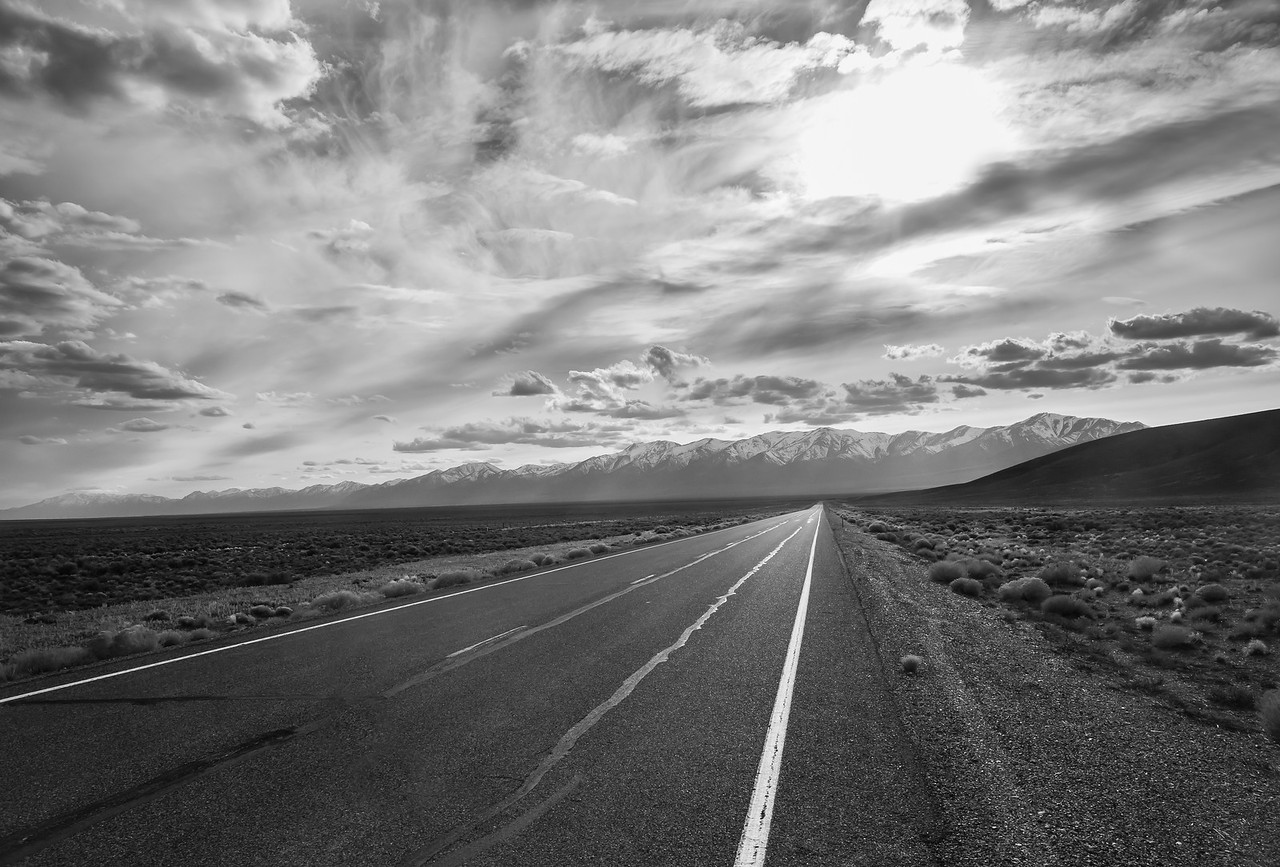 Colorless Highway 50