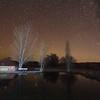 Virgin Valley Hot Springs at Night