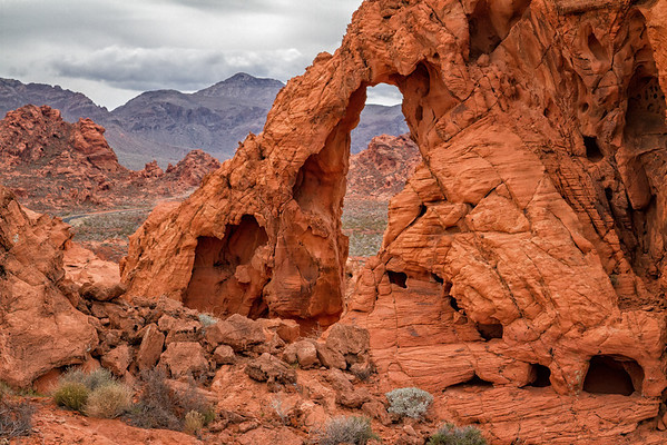 The Valley of Fire, Nevada
