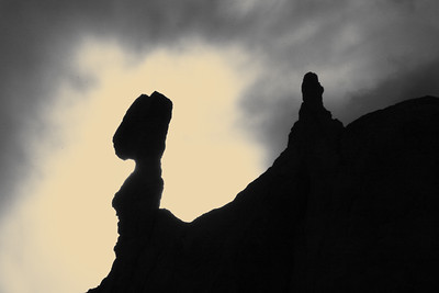 Hoodoo shadows