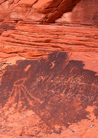 Rock art and Red Rock