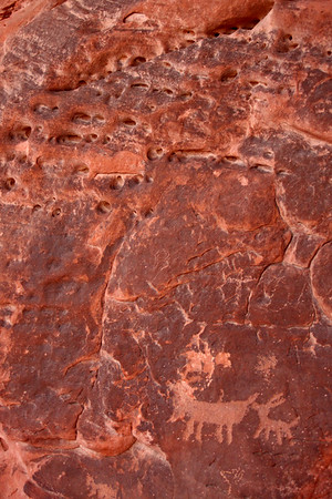 Rock art and Aztec Sandstone
