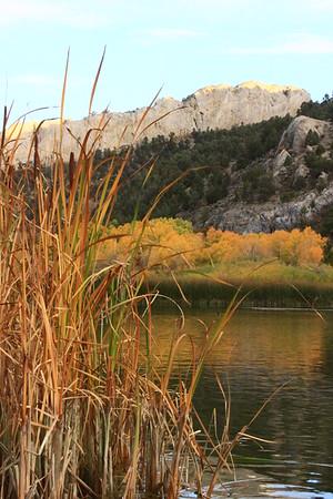 Fall at Cave Lake