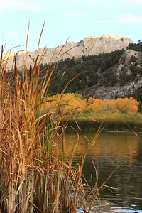 Fall at Cave Lake