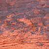 Rock art at Valley of Fire