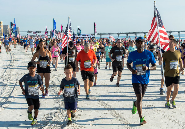 2015 Flags 5K, Trident,