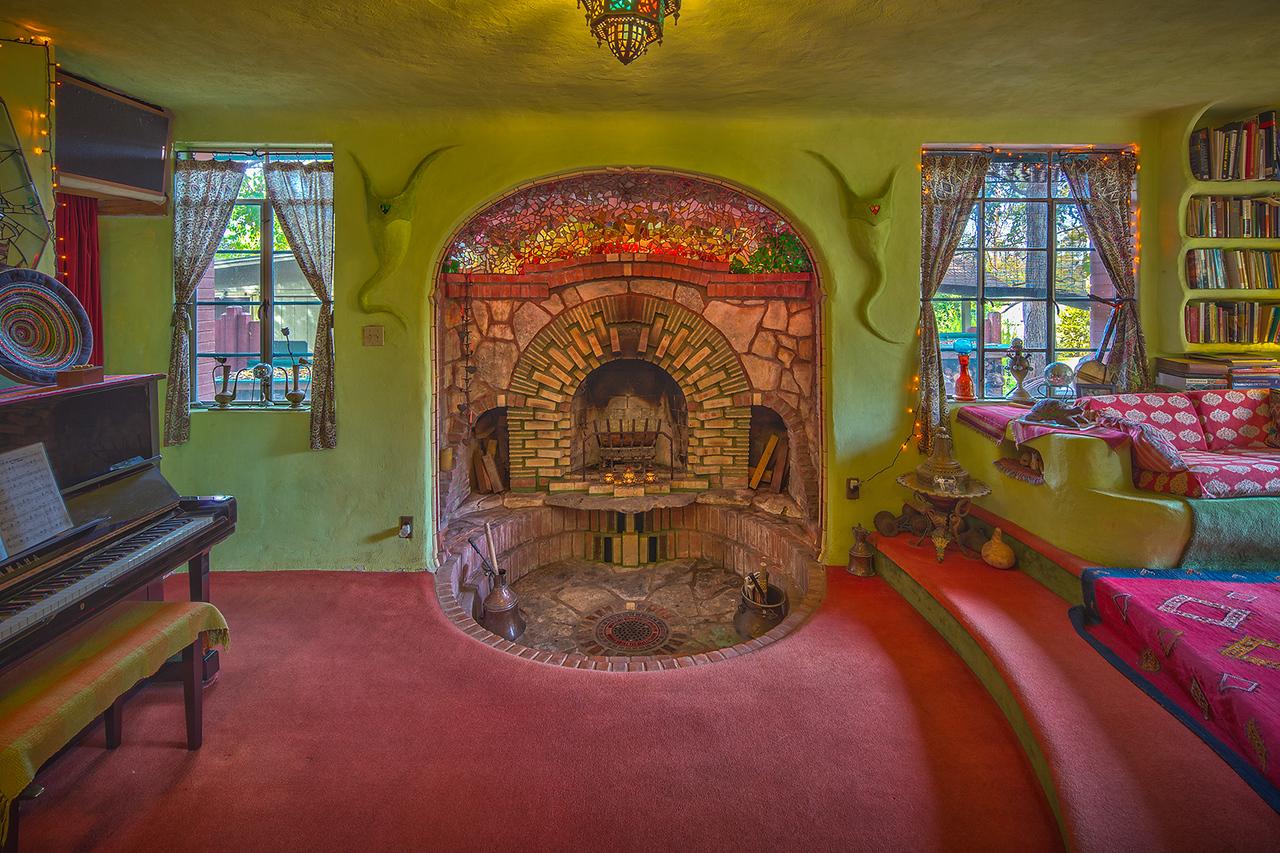 Neverlandia living room in Austin.