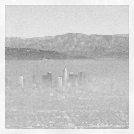 Foggy Morning LAX Approach