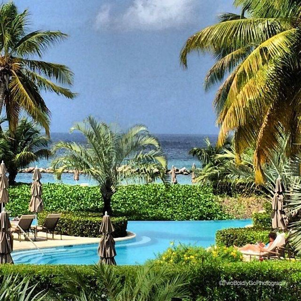 One of the pools at Four Seasons Nevis.