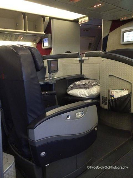 First Class American Airlines 3 Cabin 777-200