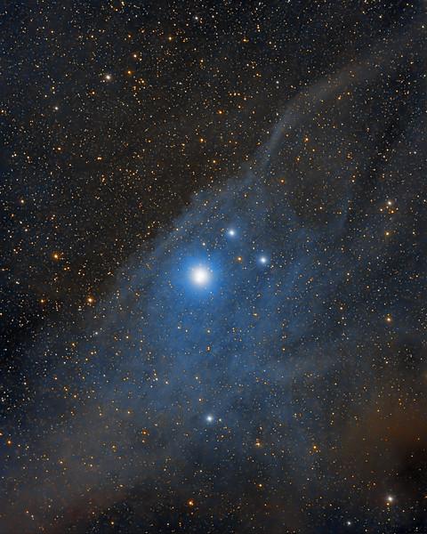 IC 4592 - Blue Horsehead Nebula -- Scorpius Constellation