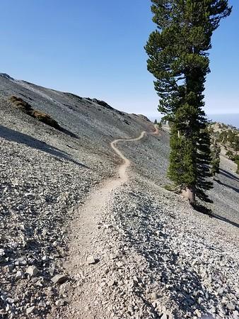 6-Peak Loop - Mt Baldy area on July 28, 2018