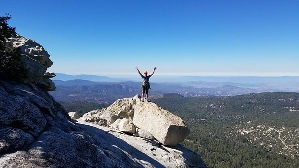 Tahquitz climbing - Sept 29 2018