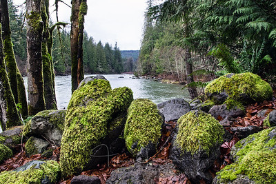 Heart Rock on the Snoqualmie River