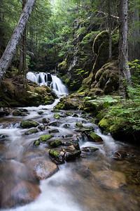 Priest Lake Waterfall
