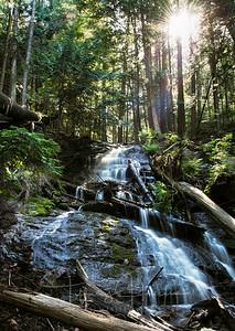 Liberty Lake Waterfall