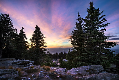 Mount Spokane Sunset