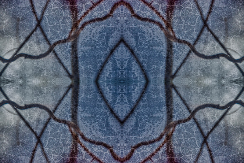 Mystic Blue Window
