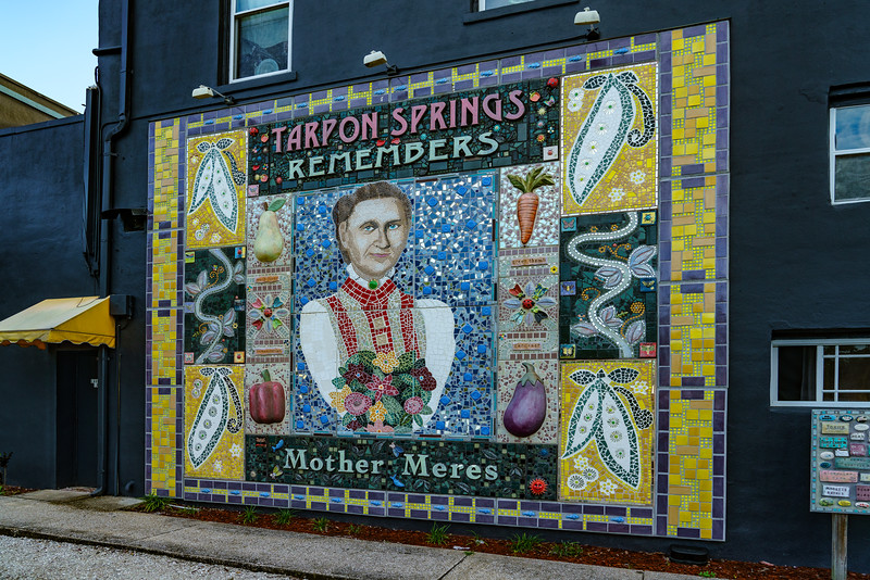 Mother Meres Mosaic Mural; Fern Hotel