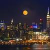 NY Skyline Sturgeon Moonrise