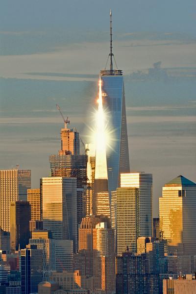 One World Trade - Sunrise Stars
