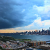 Brewing Storm over NY and NJ