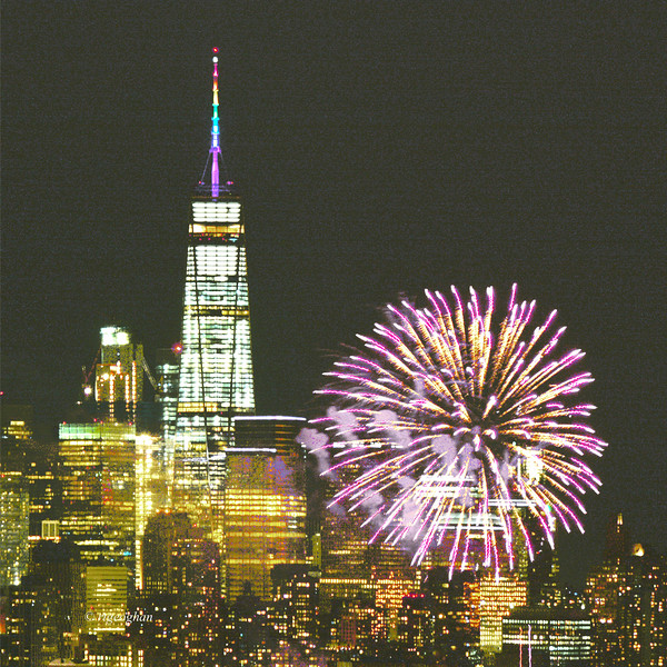 One World Trade and Pride Fireworks