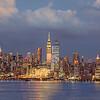 Manhattan Sundown and Twilgiht Skies