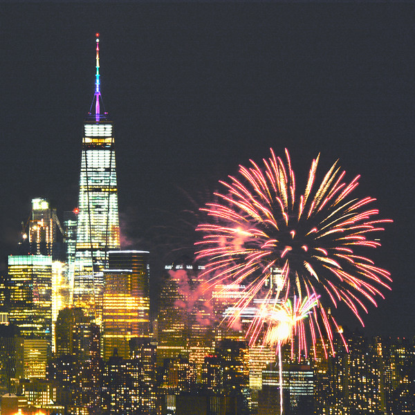 NYC Fireworks for Pride