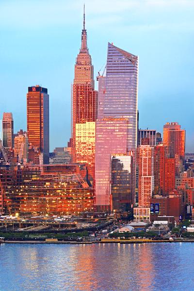 NY Skyline at Sundown
