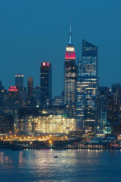 NY Skyline-Celebrating Memorial Day