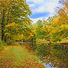 Autumn Canal  Reflections