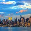 NYC Stormy Sundown