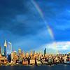 NYC Sept Sundown Rainbow