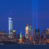 Lady Liberty and Tribute in Light