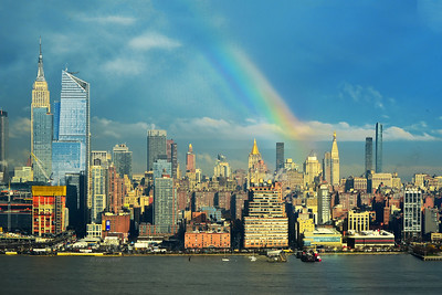 NYC April Rainbow